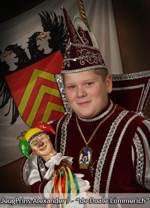 2004 - Jeugprins Alexander 1e (Vleeshouwers)