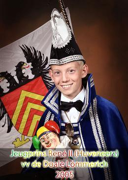 2005 - Jeugprins Rene 2e (Huveneers)