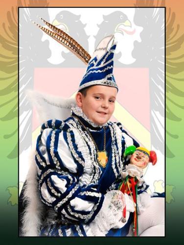 2012 - Jeugprins Marco 1e (Lebens)