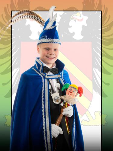 2019 - Jeugprins Bjarne 1e (Diederen)