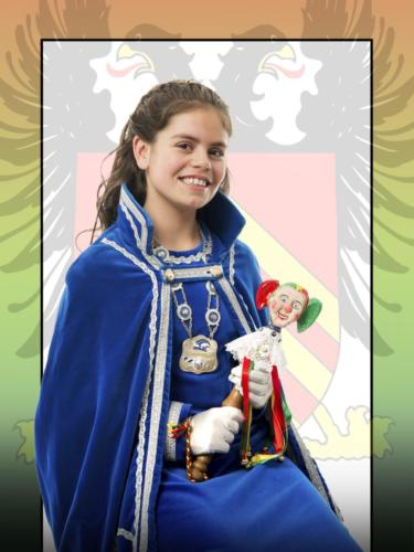 2017 - Jeugprinses Dané 1e (de Vrede)