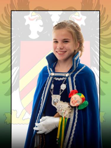 2019 - Jeugprinses Juul 1e (Lebens)