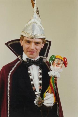 1981 - Prins Ger 1e (Schrijen)Jubileumprins 1x11