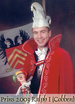 2003 - Prins Ralph 1e (Cobben)Jubileumprins 3x11
