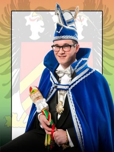 2014 - Prins Kay 1e (Coenen) Jubileumprins 4x11